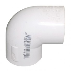 "12"" Sch 40 PVC 90 Elbow Soc 406-120"
