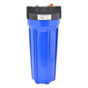 "10"" Slim Big Blue Filter Housing Blue"