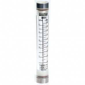 F-40750LN-12 Blue White Flow Meter