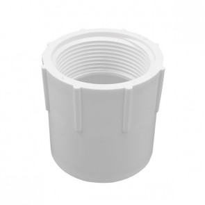 "1/2"" Schedule 40 PVC Female Adapter - Socket x FIPT (435-005)"