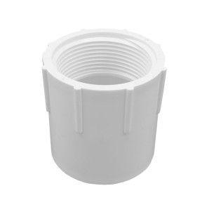 """1-1/4"""" Schedule 40 PVC Female Adapter - Socket x FIPT (435-012)"""