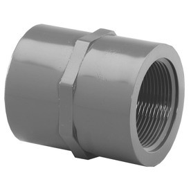 "1/4"" Schedule 80 PVC (S x FPT) Female 835-002"