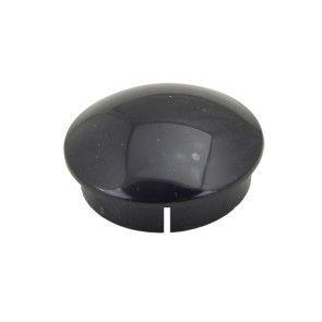 "2"" Domed Internal Pipe Cap Furniture Grade - Black"
