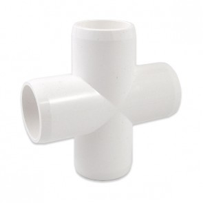 "3/4"" Furniture Grade PVC Cross"