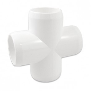 "1"" Furniture Grade PVC Cross"
