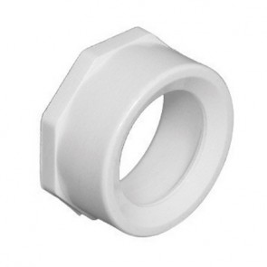 "4"" x 3"" DWV PVC Flush Bushing SP x H D107-422"