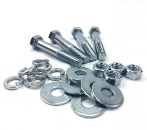 "Zinc Bolt Kit for 2-1/2"" PVC or CPVC Flanges"