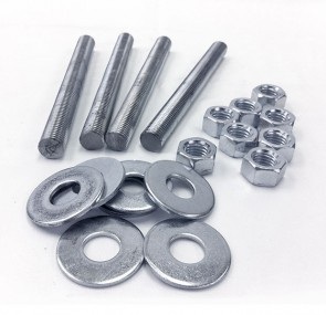 """Stainless Steel Stud Pack for 3"""" PVC or CPVC Flanges"""