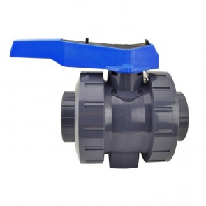 "3"" Flui-PRO Series 2 PVC True Union Ball Valve - Socket or Threaded"