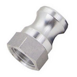 "1/2"" Flui-PRO AL Camlock Fitting - Male Camlock x FNPT (FP-AL-A-50)"