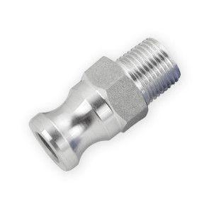 """1/2"""" Flui-PRO AL Camlock Fitting - Male Camlock x MNPT (FP-AL-F-50)"""