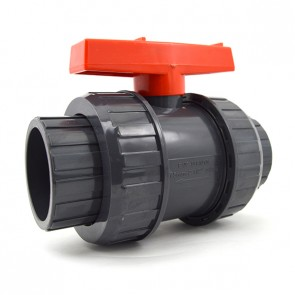"2-1/2"" FluidPro PVC True Union Ball Valve"