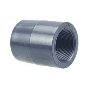 "1"" Schedule 80 PVC (FPT) Coupling 830-010"