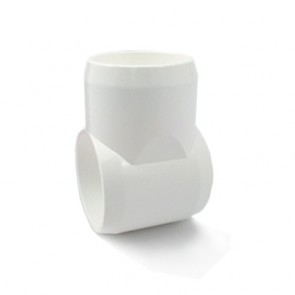 "3/4"" PVC Furniture Fitting Tee"