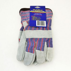 PlumBest Leather Palm Low Safety Cuff All Purpose Gloves (G50204)