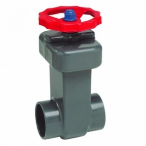"2-1/2"" PVC Socket Gate Valve Spears 2022-025"