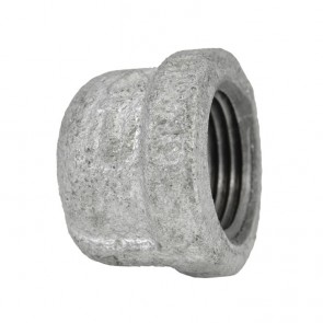 Galvanized Malleable Cap - FNPT