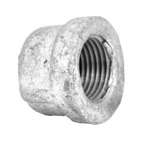 "3/8"" Galvanized Malleable Cap - FNPT (GMC38)"