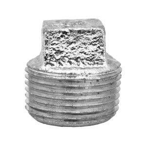 """1"""" Galvanized Malleable Plug - MNPT (GMP1)"""