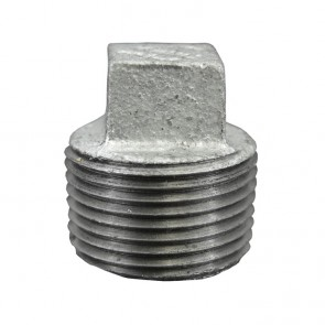 Galvanized Malleable Plug - MNPT