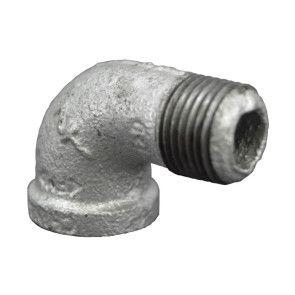 Galvanized Malleable 90 Street Elbow - FNPT x MNPT