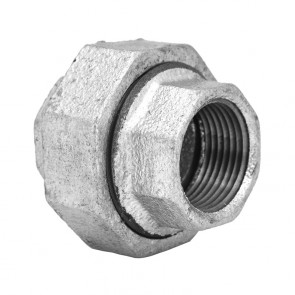 "1"" Galvanized Malleable Union - MNPT (GMU1)"