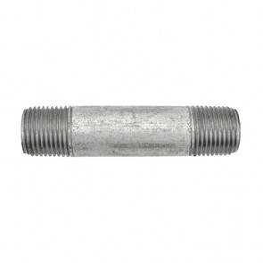 """1/2"""" Galvanized Malleable Pipe Nipple Fitting"""