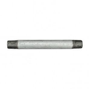 "1/4"" Galvanized Malleable Iron Nipple Fitting"