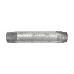 "3/8"" galvanized malleable iron nipple fitting"