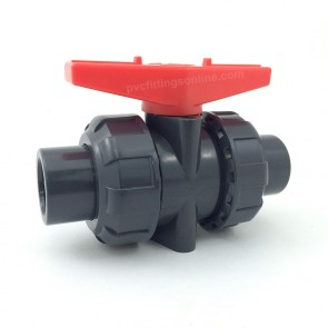 "1/2"" PVC True Union Ball Valve"