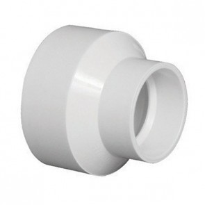 "8"" x 4"" DWV PVC Reducer Fitting D102-582"