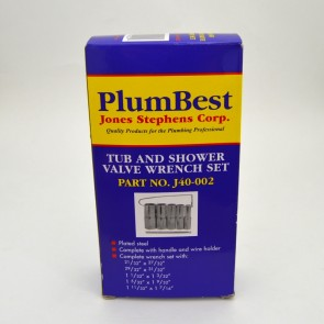 blue box for plumbest tub and shower wrench set