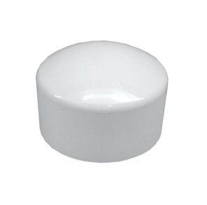"""12"""" Sch 40 PVC Cap - Socket 447-120"""
