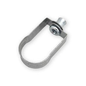 "1"" Electro Galvanized Standard Duty Loop Hanger (3000-00100EG)"