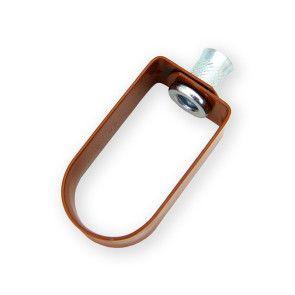"""1"""" Copper Epoxy Standard Duty Loop Hanger (3100-0100PC)"""