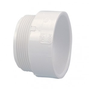 "1-1/2"" DWV PVC Male Adapter D109-015"
