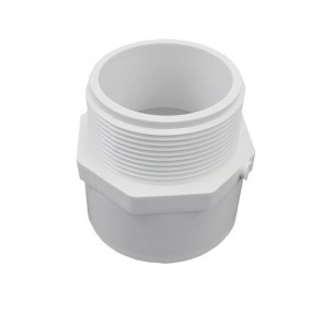 "1-1/4"" Schedule 40 PVC Male Adapter - MIPT x Socket (436-012)"