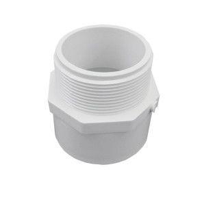 """4"""" Schedule 40 PVC Male Adapter - MIPT x Socket (436-040)"""