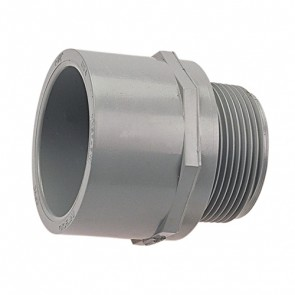 "4"" Schedule 80 CPVC Male Adapter 9836-040"