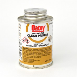 Oatey Clear Primer - 8 oz.