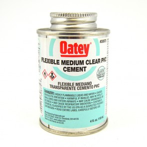 Oatey Flexible PVC Cement - Clear