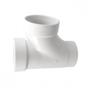 """2"""" DWV PVC Sanitary Street Tee D403-020"""