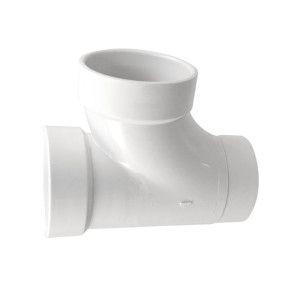 """4"""" DWV PVC Sanitary Street Tee D403-040"""