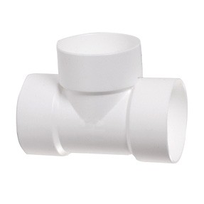 """2"""" DWV PVC Vent Tee D441-020"""