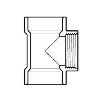 """4"""" DWV PVC Flush C.O. Tee D445-040"""