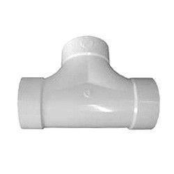 """4"""" DWV PVC 2-WAY Cleanout D448-040"""