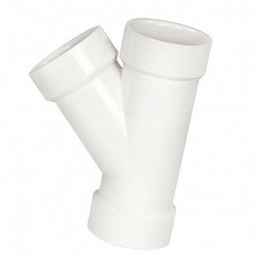 """1-1/2"""" DWV PVC Wye D600-015"""