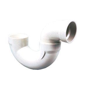 "4"" DWV PVC P-Trap (P706X-040 / D706-040)"
