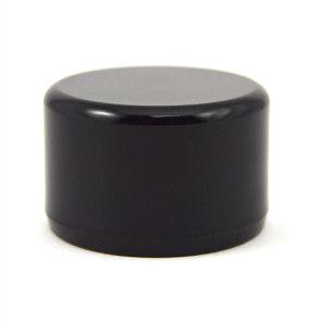 "1"" PVC End Cap - Furniture Grade Black"