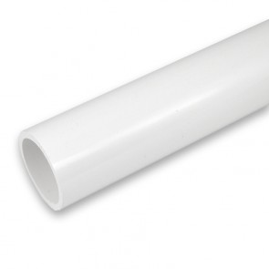 "1/2"" Unmarked PVC pipe - White"